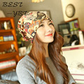 2016 New Beauty Pattern Empty Top Hat Hedging Autumn and Winter Warm Hat Knitted Hat Scarf Dual-use High-quality
