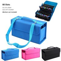 Durable 80 Slots Carrying Bag Storage Case Organizer For Touch New Copic Markers