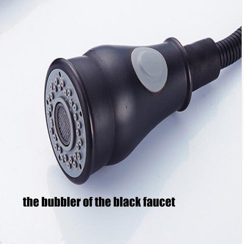 POIQIHY elegancka bateria kuchenna wyciągnij podwójny spryskiwacz Stream nablatowa bateria jednootworowa ciepła i zimna woda