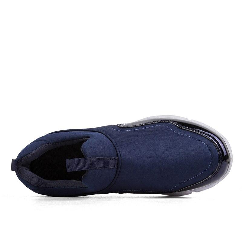 Bleu Hommes Qualité Populaire Mâle Confortable Léger Sneakers Hombre De Haute Chaussures 46 bleu Noir Gris Noir Taille gris Respirant 36 Zapatos dtw10q