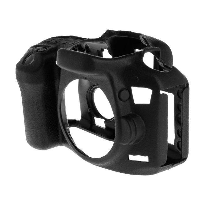 1 Bao Da Máy Ảnh Bảo Vệ Vỏ Ốp Lưng Silicone Có Thể Tháo Rời Chống Sốc Bảo Vệ Dành Cho Máy Ảnh Canon EOS 7D Mark II