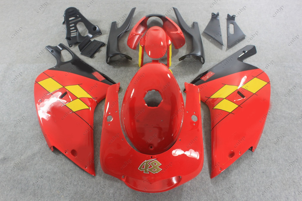 Plastic Fairings RS125 02 03 Motorcycle Fairing RS125 02 03 2000 - 2005 Red White Fairing for Aprilia RS125 02 03