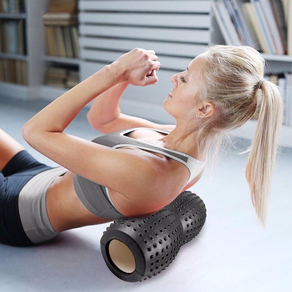 Foam Massage Roller Yoga Bolster Block Tools Fitness Gym Exercises Yoga Foam Roller for Pilates Myofascial Release yoga gym exercises fitness pilates epp foam roller