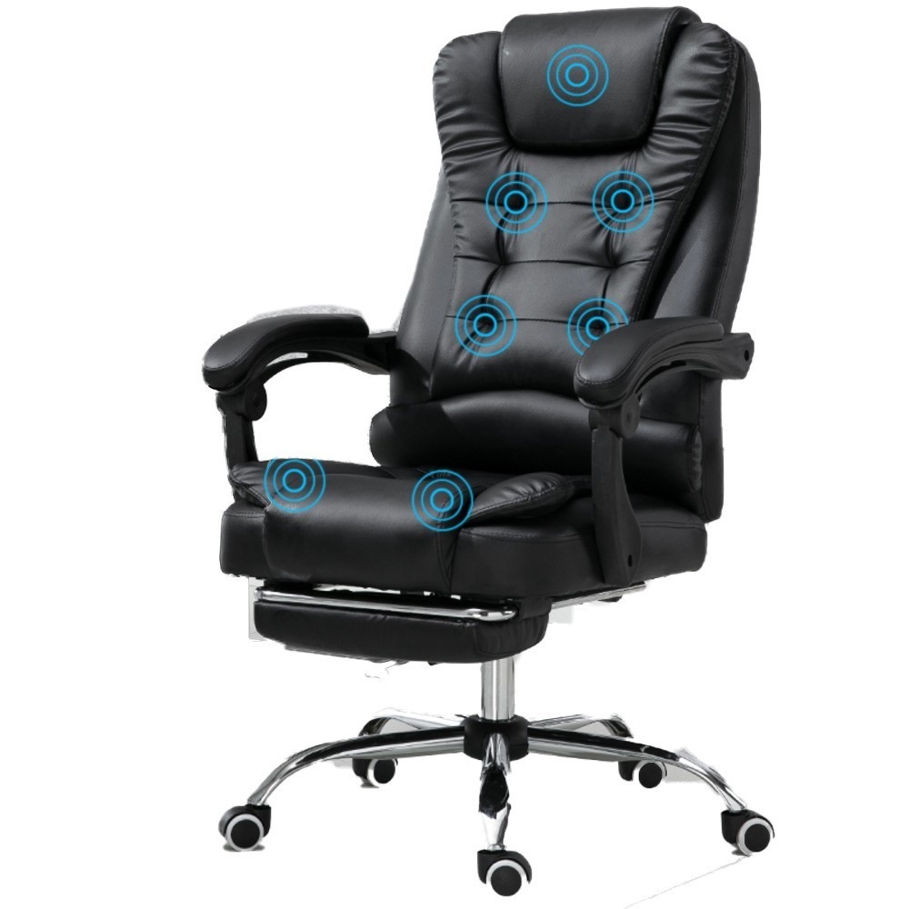 High Quality M-2 Home Office Rest Poltrona Silla Gamer Synthetic Leather Chair Massage Can Lie Ergonomics Office Furniture