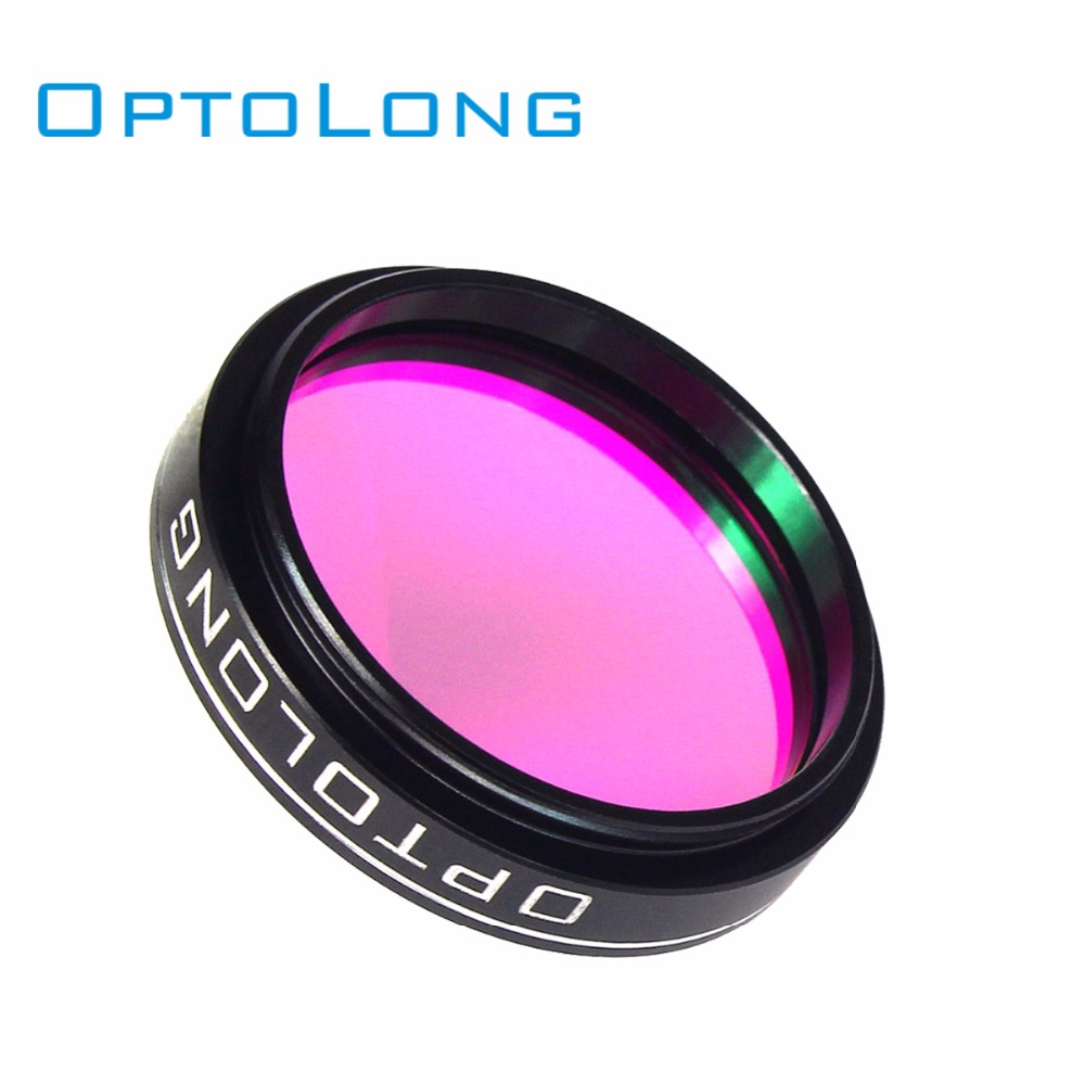 OPTOLONG 1.25 Filter 25nm O-III for Astronomy Telescope Camera Eyepiece Cut Light Pollution Monocular Binocular Telescope W2496 2 cls deepsky filter for telescope 2 eyepiece cuts light pollution