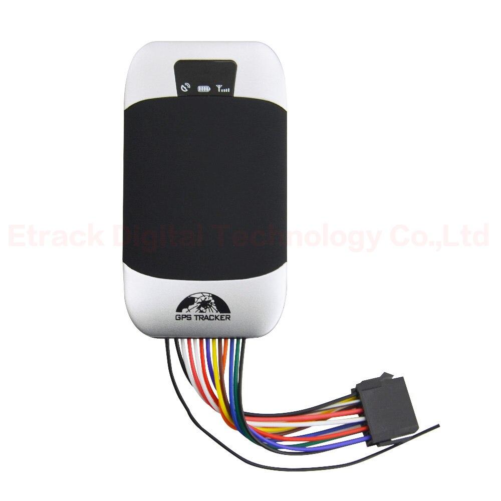 Traqueur Original tk303G de GPS de voiture de Coban avec SOS à télécommande pour le dispositif de suivi en temps réel de voiture traqueur de GPS de GSM pour la moto