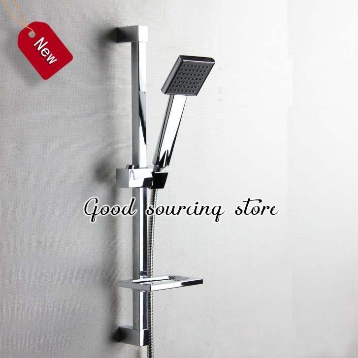 60cm Square Shower Sliding Bar Rod, Shower Set
