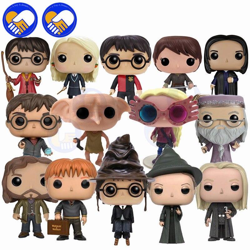 Harri Potter Figurines Hermione Weasley Snap Lucius Malefoy Dobby Minerva Mcgonagall Vinyle Action & Jouets Enfants Jouet