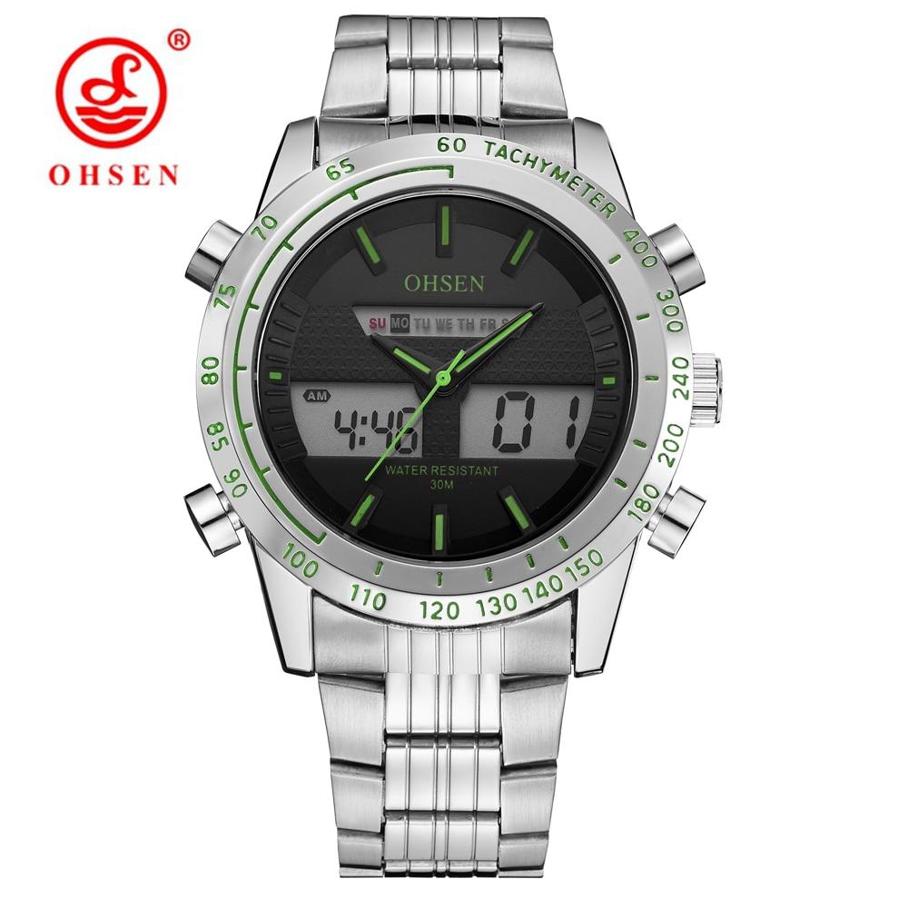 Hot Sale Fashion OHSEN Märke Sport Armbandsur Army Watch Män - Herrklockor