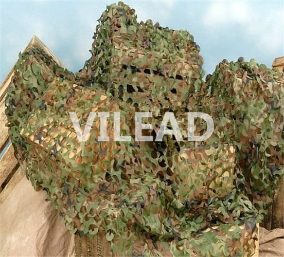 VILEAD 4M x 5M (13FT x 16.5FT) Woodland Digital Camo Netting Military Army Camouflage Net Sun Shelter for Hunting Camping Tent