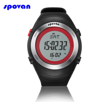 SPOVAN Brand Sport Watch Men Digital Heart Rate Monitor 3D Pedometer Chest Calorie Outdoor Running Wristwatch Relogio Masculino skmei brand pedometer sport watch men digital multifunction casual fitness led watches fashion men s outdoor wristwatch relogio