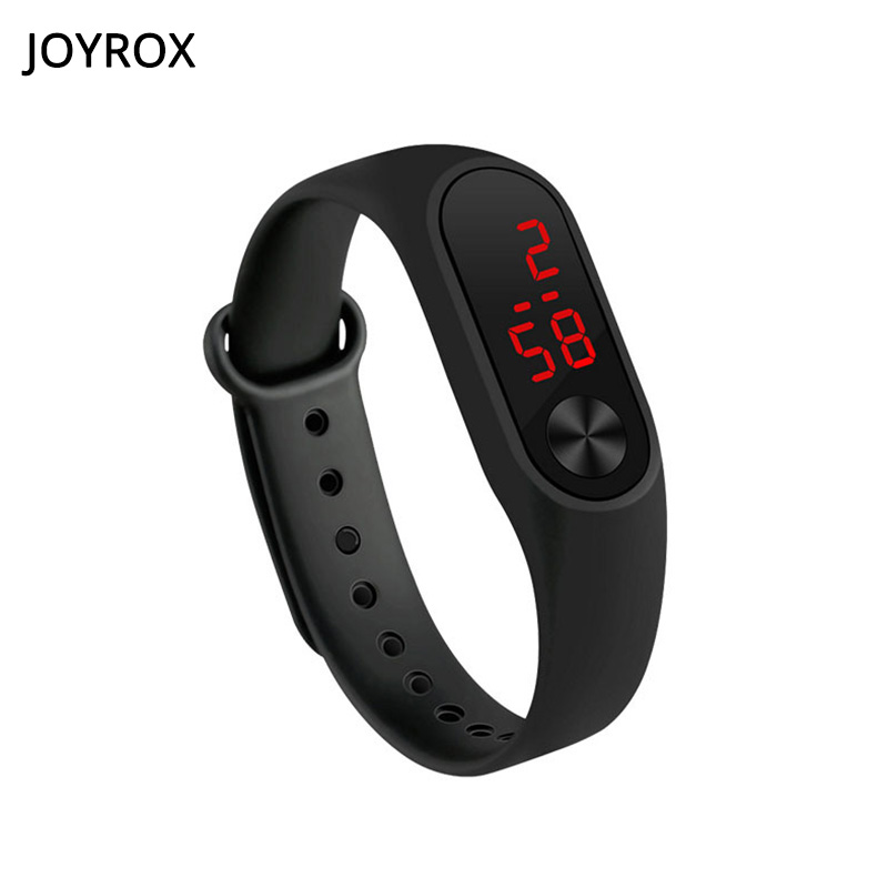 Joyrox Led Watch Kids Jelly Color Digital Child Watches New Touch Screen Rubber Children Watch For Boy Girl Student Go To School Great Varieties Children's Watches