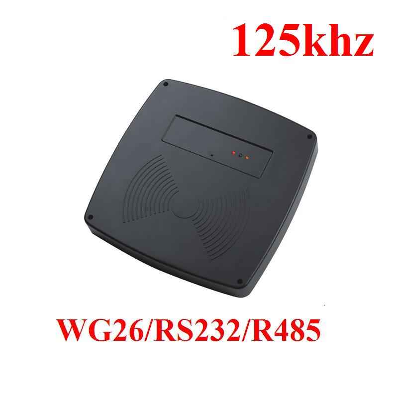 Long range RFID 125KHz 60-100CM 125KHZ RFID Card Outdoor Long Distance Proximity Reader rfid wg26 wg34 access 125khz card reader long long distance 80mm inductive card reader