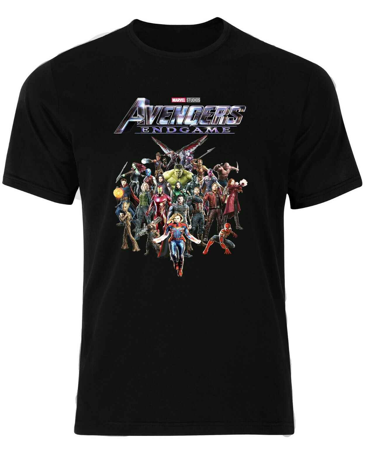 151c46f5c Characters Avengers EndGame Posters Thanos Thor Black Widow Men Tshirt AN13  Comfortable t shirt,Casual