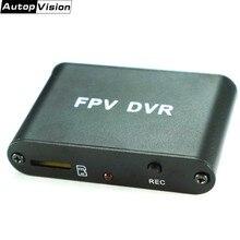 Мини HD FPV DVR FPV AV рекордер Micro D1M 1CH 1280x720 30f/s HD DVR Поддержка 32G TF карта работает с CCTV аналоговой камерой D1M