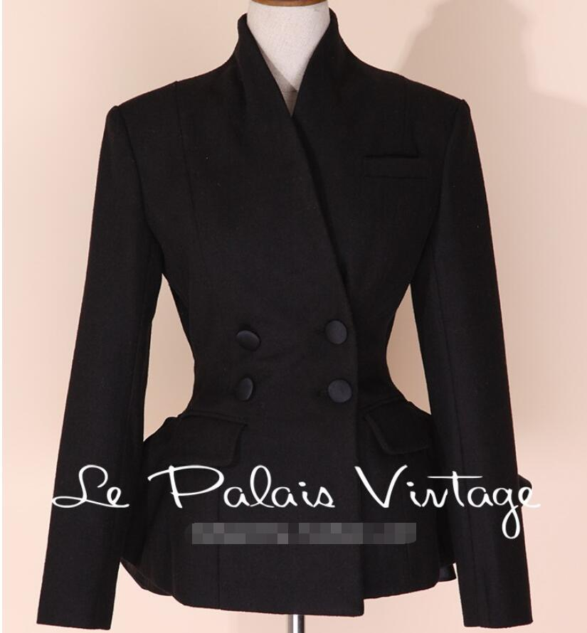 2019 New Retro Shirt Tight Skinny Lap top Fashion Temperament Ladies Short Coat Single Suit Outerwear