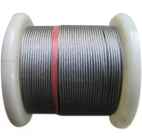 OD 3mmx 7x7 X 10m Strand Stainless Steel 304 Wire Rope Core Fishing Wire /rigging