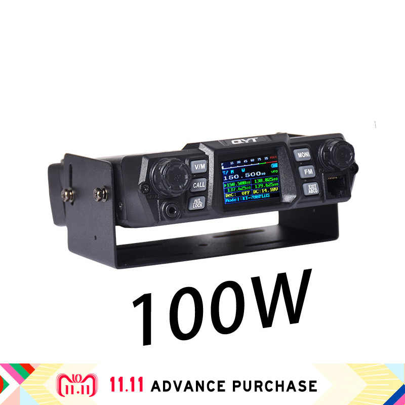 100W QYT kt-780plus VHF walkie talkie radio de coche de la estación de altavoces comunicador intercomunicador caza columna west ham comprar directo de china