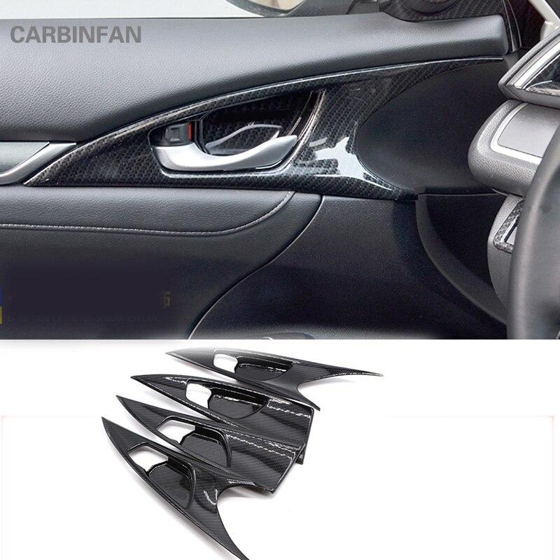 Civic Sedan Interior: For Honda Civic 10th Sedan 2016 2017 Hatchback 2017 Carbon