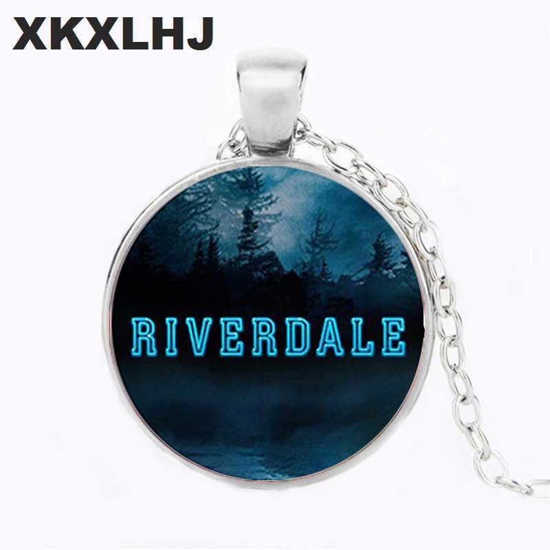 XKXLHJ Simple Riverdale Couple Words Necklace Punk Hip Hop Boys Girls Long Chain Statement Necklace Women Mens Jewelry