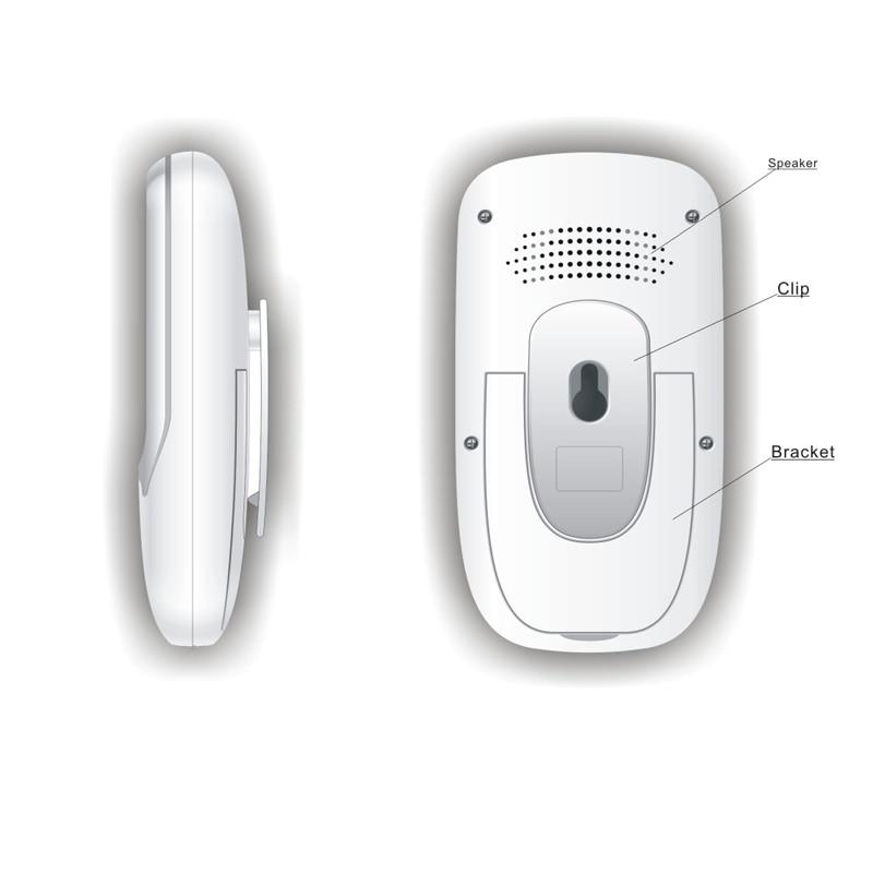 Najbolji 2,4-inčni TFT LCD bežični digitalni video Baby Monitor - Sigurnost i zaštita - Foto 6