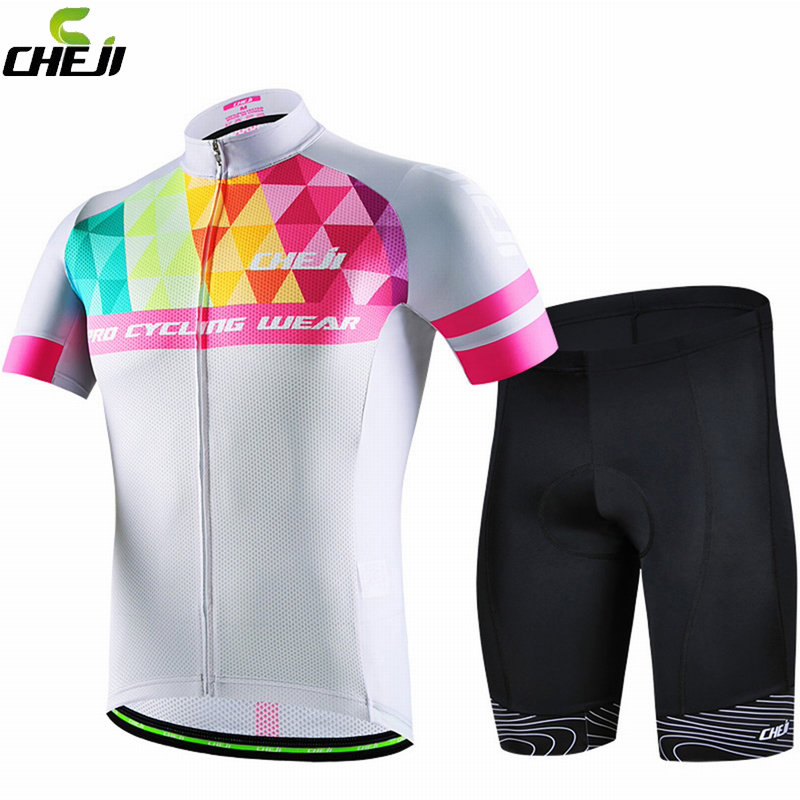 ФОТО New Mens Summer Cycling Jersey Ropa Ciclismo Cycling Clothing Bike Pro Sport Wear Gel Padded Cycling Clothes Ciclismo Feminino