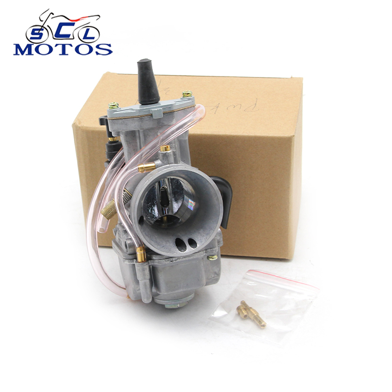 все цены на Sclmotos- Motorcycle Parts Motor Carburetor Modification 21 24 26 28 30 32 34mm KOSO Carb With Power Jet Fit Race Scooter онлайн
