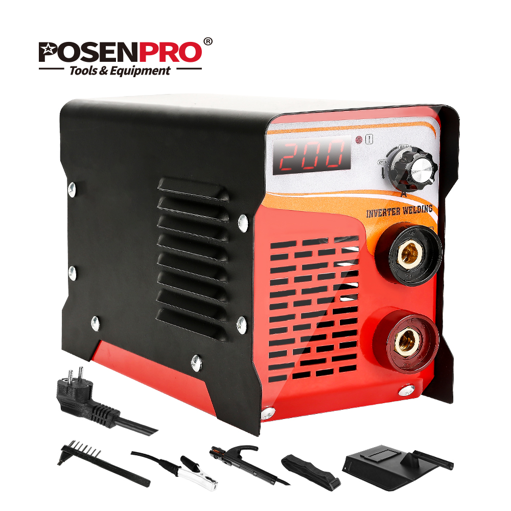 POSENPRO 220V 120A 200A Arc Welding Machine and Electric Working for Soldering for electric Welder Welding