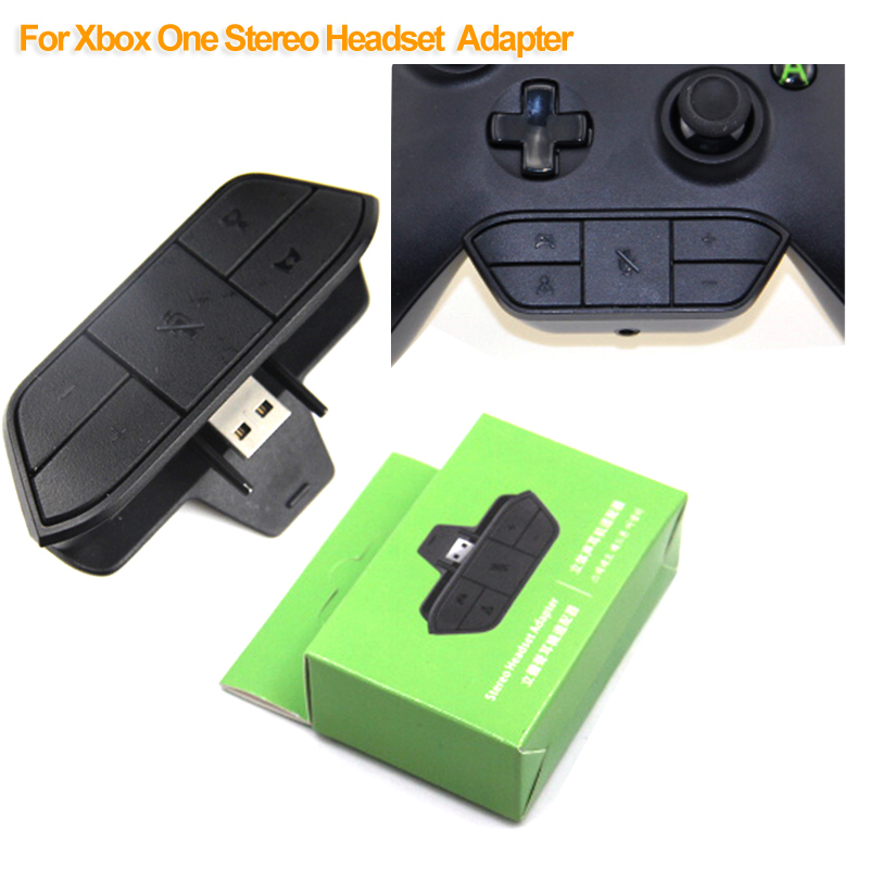 Compatible Earphone Audio Mic For Xbox One Stereo Headset Adapter