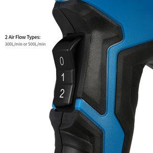 Image 3 - Pistolet à Air chaud électrique 2000W 220V, contrôle de la température, sèche cheveux, régulateur thermique réglable, pour soudure