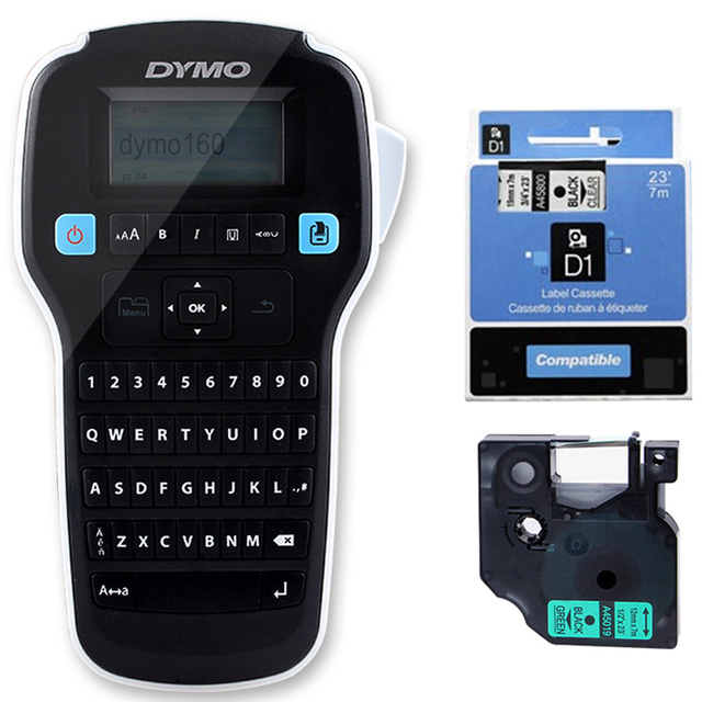 US $76 0 |New LM160 English hand held portable stickers label machine For  DYMO LM160 LM280 Industrial label printer-in Printers from Computer &  Office