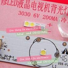 Для EVERLIGHT светодиодный подсветка 1-2W 3030 6V холодный белый 125-150LM ЖК-подсветка для ТВ приложения 62-123TUN2C/F115145N68SBF-T