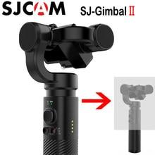 Sjcam gimbal 2 sj-gimbal estabilizador, de mão, 3 eixos, bluetooth, controle app para sj5000x sj6 sj7 sj8 yi hero6/5/4/3 sony câmera rxo