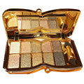 New 10 Colors Professional paleta de maquiagem Diamond Eyeshadow Palette & Cosmetic Brush Makeup Set #82608