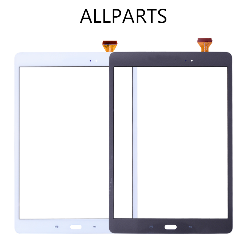 Allparts Tested 9.7 inch Tablet Touch Screen For Samsung Galaxy Tab Touch Screen Glass Panel Digitizer Parts T550 T551 T555