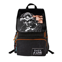 Factory Direct Animation Bag DATE A LIVE Male And Female Students Practical Backpack