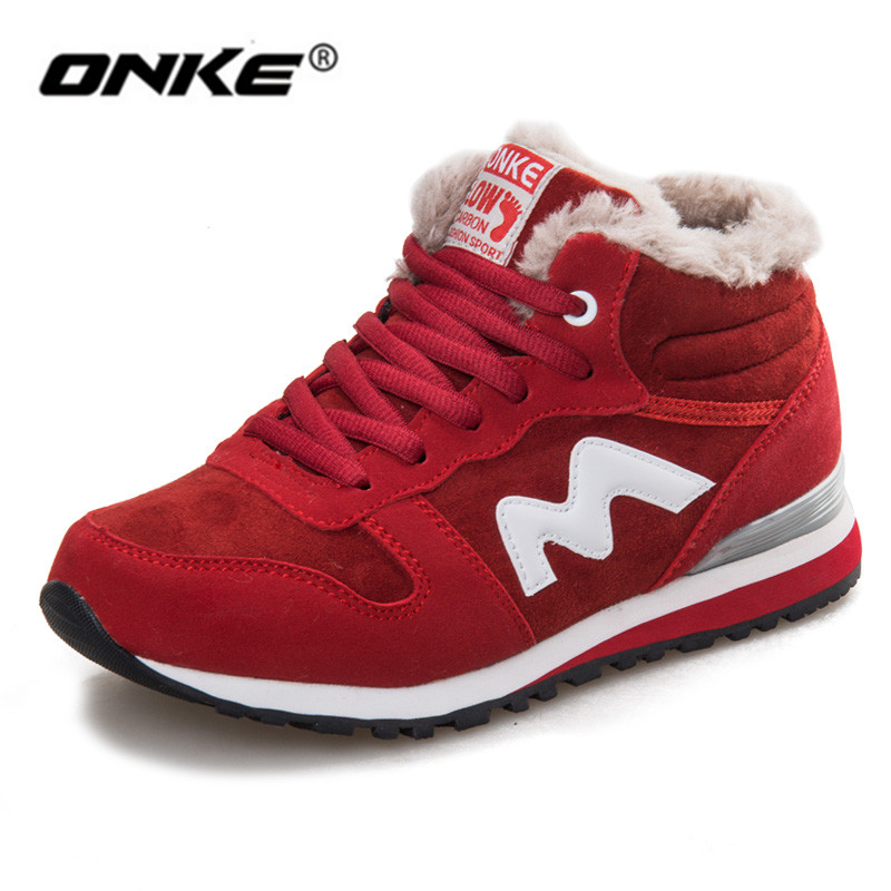 112359eb6a287 2018 women shoes sneakers Autumn Winter sport trainers thermal women  running shoes zapatillas deportivas mujer chaussures femme-in Running Shoes  from Sports ...