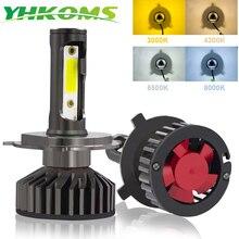 YHKOMS Canbus Auto Scheinwerfer LED H4 H7 3000 K 4300 K 6500 K 8000 K Led lampe H11 H8 H1 h3 9005 9006 880 881 H27 Auto Nebel Licht Lampe