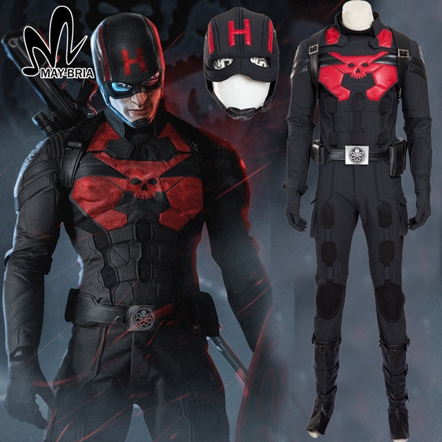halloween costumes for adult men captain america hydra cosplay costume black captain america suit cosplay hydra
