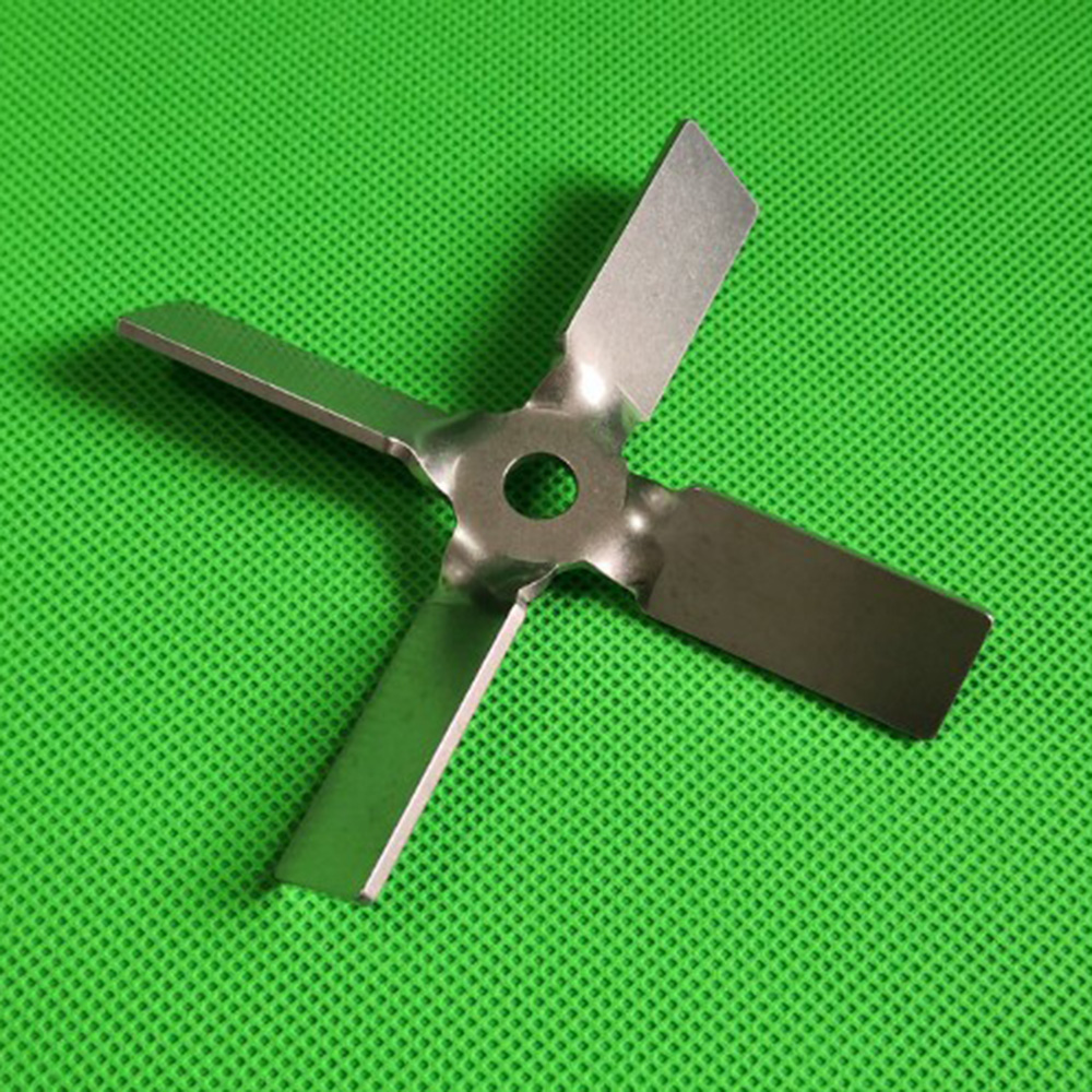 1pcs Lab Stainless Steel DIA 40mm To 100mm Four Blade Propeller, Cross Paddle For Lab Stirrer Mixer Blender Machine