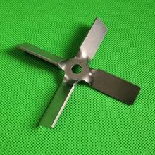 Пропеллер с четырьмя лезвиями из нержавеющей стали диаметр 40