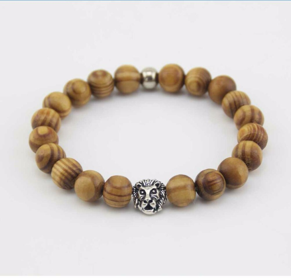 wooden womens lava and wood bead stone mac adjustable product blk jilly f bracelet