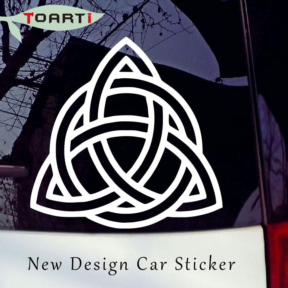 Celtic Knot Viking Triquetra Norse Sticker Decal Window Vinyl