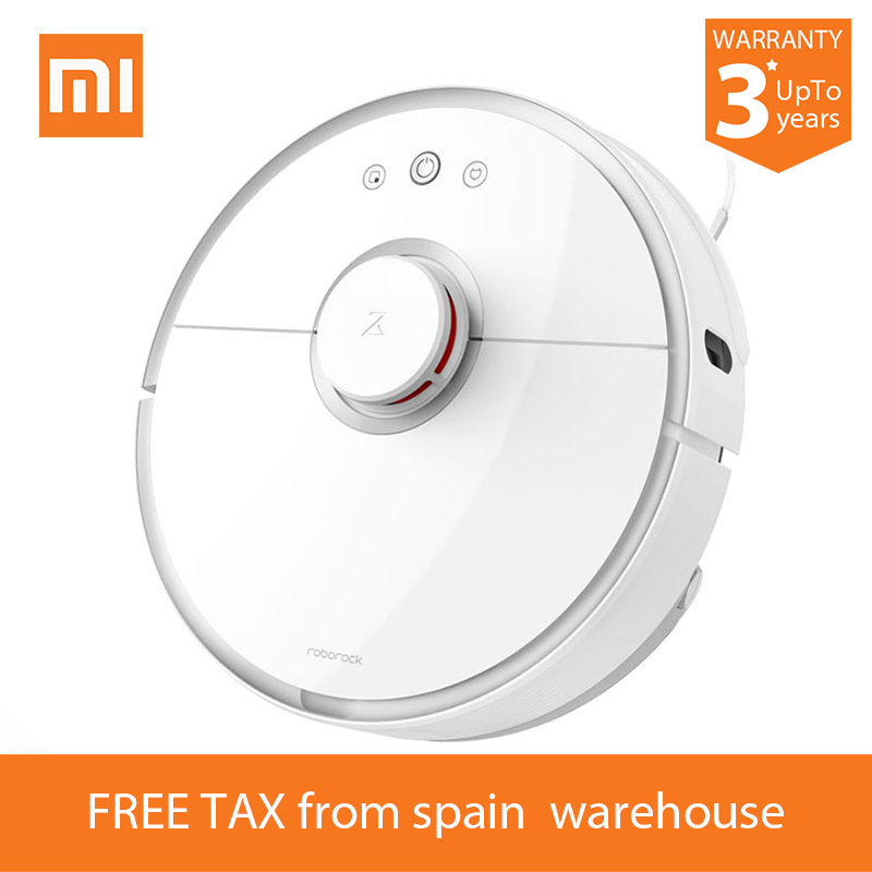 2018 Xiaomi Roborock S50 Robot Vacuum Cleaner 2 S51 for Home Automatic Sweeping Dust Sterilize Smart Planned Washing Mopping цена и фото