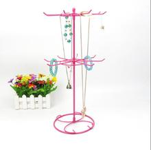 41*21cm 3style Iron jewelry mobile phone, hat rack, socks display rack mannequin, lipstick, rotary ornaments 1pc C170
