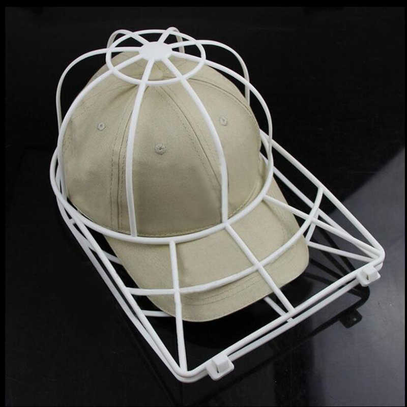 2ecedc5df78 Cleaning Protector Ball Cap Washing Frame Cage Baseball Ball cap Hat Washer  Frame Laundry bag for