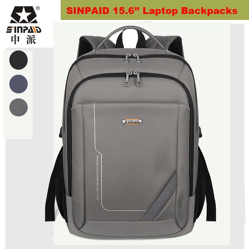ФОТО 15.6 Notebook Backpacks Student College Waterproof Backpack Men Women Material Escolar Mochila Quality Brand Laptop Bag Backpack