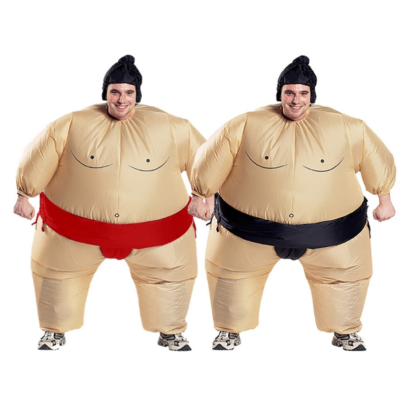 Sumo Inflatable Cosplay Costume Free Shipping for Halloween and Christmas for Adults and Children