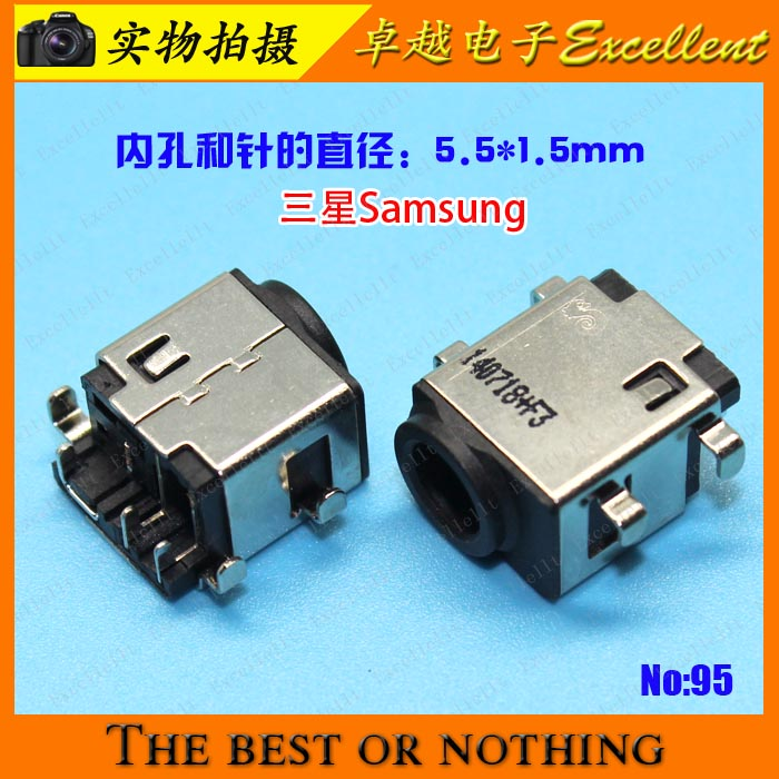 New Samsung Genuine AC DC Power Jack Plug NP355V4C Series NP355V4C-A01