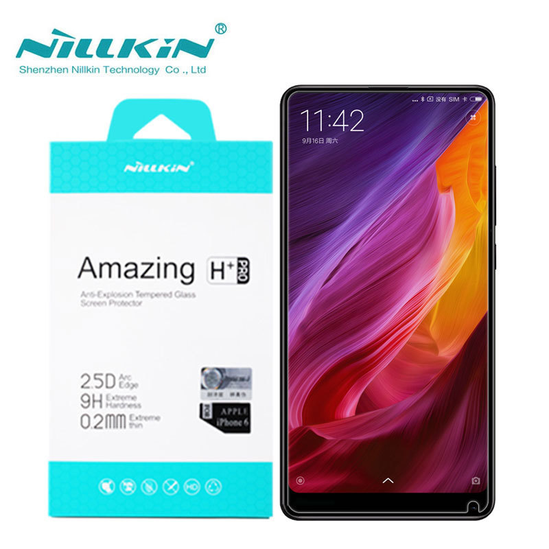 Nillkin Xiaomi Mi MIX 2 Tempered Glass Xiaomi Mi MIX 2 Glass Amazing H+Pro 0.2MM Screen Protector For MiX 2S / Mix2S